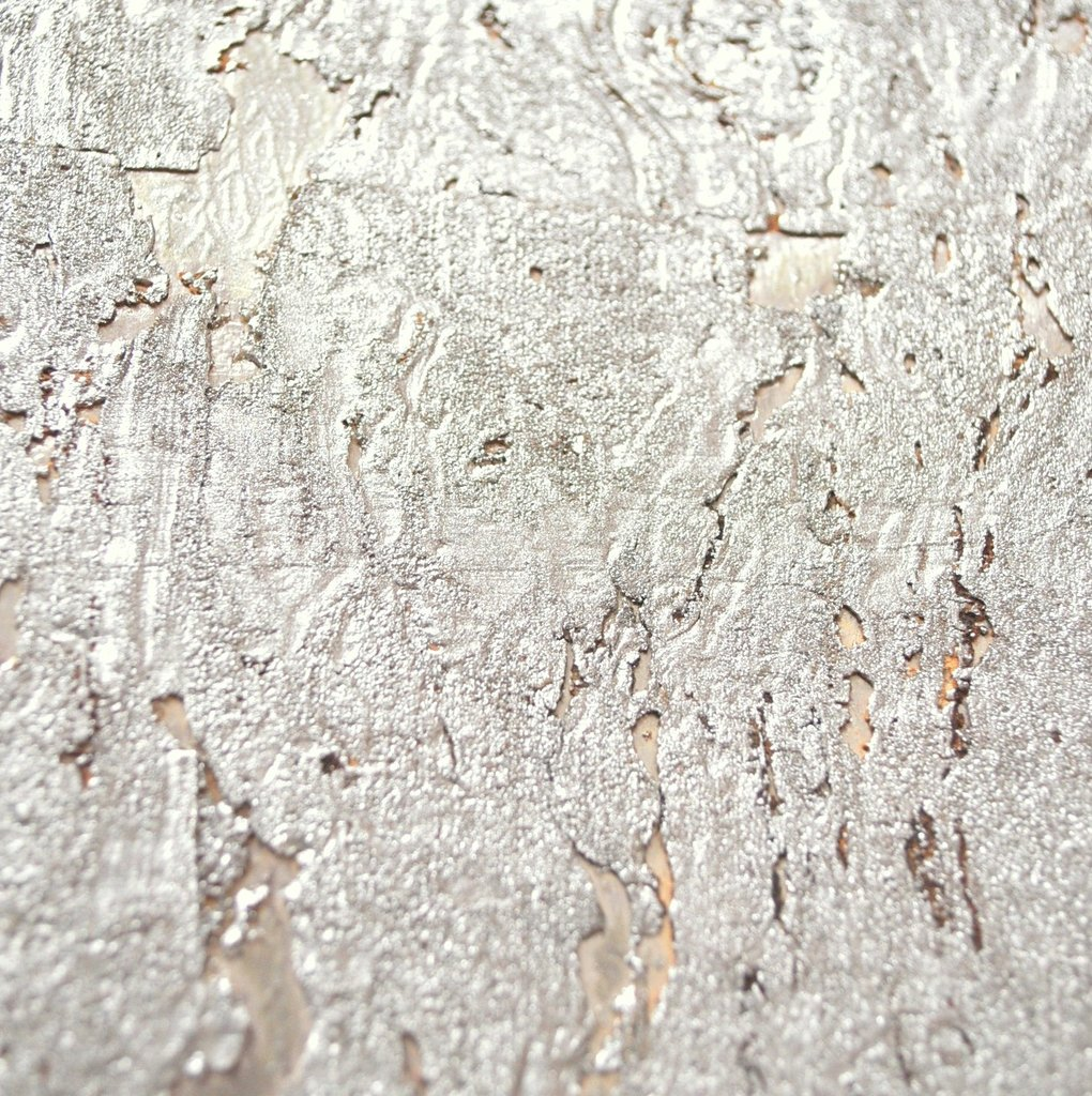 Kork Tapete Sk 10 Silber Exklusive Wandbekleidungen