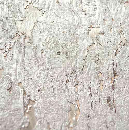 Kork-Tapete Sk-10, Silber Grob - Exklusive Wandbekleidungen
